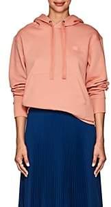 Acne Studios Women's Ferris Face Cotton Hoodie - Pink