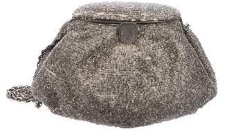 Nina Ricci Beaded Metallic Evening Bag