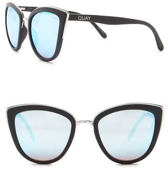 Quay My Girl 55mm Cat Eye Sunglasses