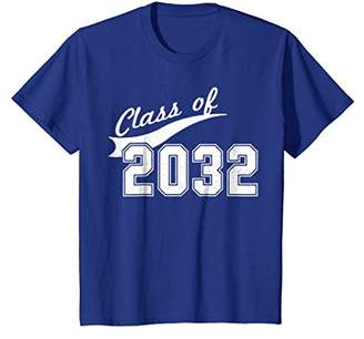 Class Of 2032 T-Shirt - Kindergarten Future Graduate Tee