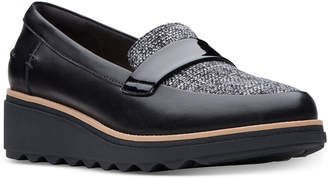 Clarks Collection Women Sharon Gracie Platform Loafers, Women Shoes