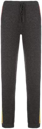 Madeleine Thompson striped loose track trousers