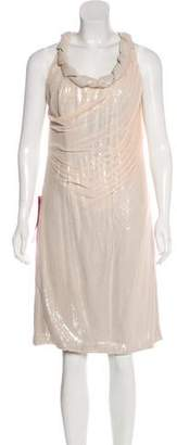 Tadashi Shoji Silk Sequined Dress w/ Tags
