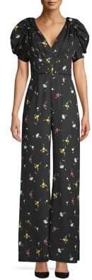 C/Meo CMEO COLLECTIVE Floral Wide-Leg Jumpsuit
