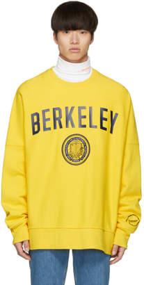 Calvin Klein Yellow Berkeley Edition University Sweatshirt