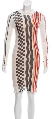 Louis Vuitton Silk Printed Dress