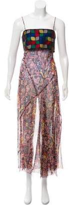 Dries Van Noten Silk Midi Dress