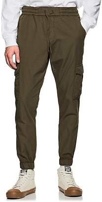 NSF Men's Cotton Canvas Cargo Jogger Pants - Dk. Green