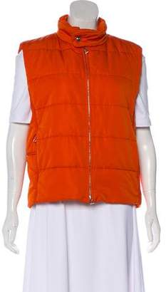 Hermes Quilted Padded Vest