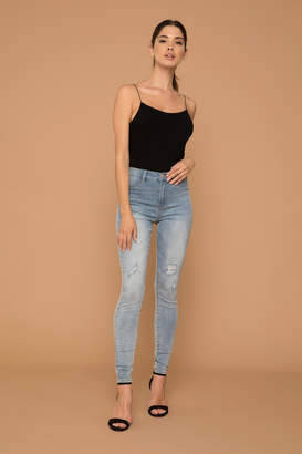 KENDALL + KYLIE Ardene Kendall & Kylie High Rise Ripped Skinny Jeans