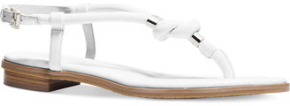 MICHAEL Michael Kors Holly Flat Thong Sandals $120 thestylecure.com