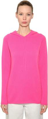 Max Mara 's Hooded Cashmere Knit Sweater