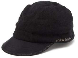 And Wander - Air Wool Blend Ear Protector Cap - Mens - Black