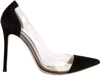 Gianvito Rossi Plexi heels