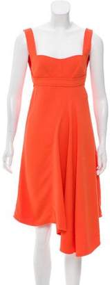 Victoria Beckham Sleeveless Asymmetrical Dress w/ Tags