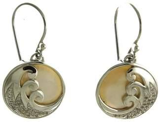 Oceania Maui Delicate Wave Earrings