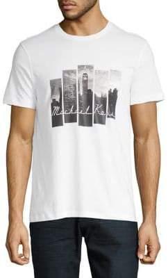 Michael Kors Photo Cityscape Tee
