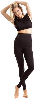 Blanqi High-Performance Post Partum Seamless High Waist Leggings - X-Large