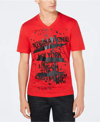 INC International Concepts Inc Men's Text Graphic T-Shirt, Created for Macy's