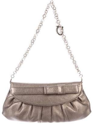 Salvatore Ferragamo Bow-Accented Shoulder Bag