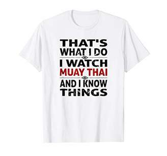 Muay Thai T-Shirt for Men | Gift For Your Thailand Trip