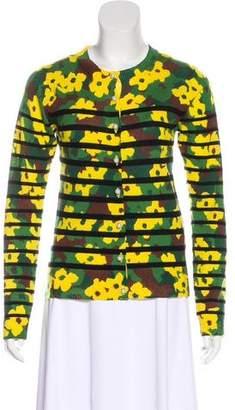 Muveil Wool Printed Cardigan