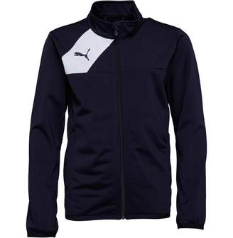Puma Junior Boys Esquadra Poly Jacket Navy/White