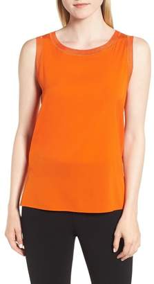 BOSS Istora Stretch Silk Top