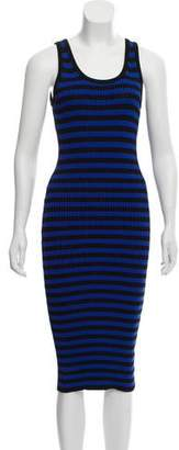 MICHAEL Michael Kors Sleeveless Midi Dress