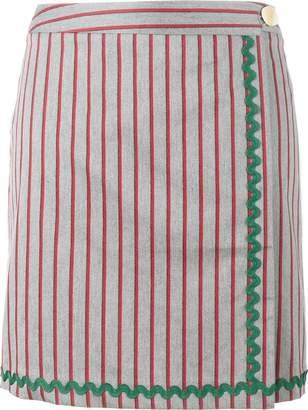 Jour/Né stripe wrap skirt