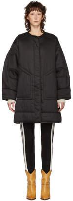 Etoile Isabel Marant Black Nao Padded Jacket