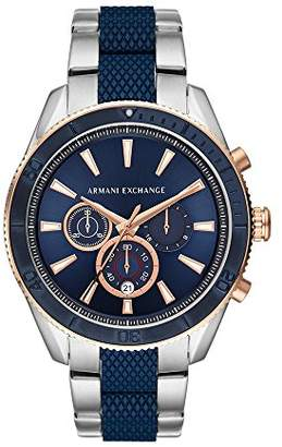 Armani Exchange Men's 'Chronograph' Quartz Stainless Steel Casual Watch