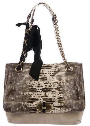 Lanvin Suede Happy Bag