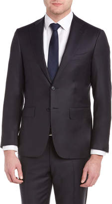 Canali Suit With Flat Front Pant