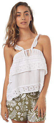 Rusty New Women's Lacey Cami Cotton White