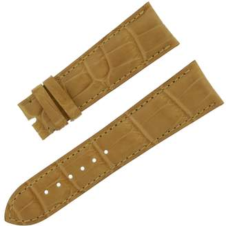 Chopard 22 - 18 mm Genuine Alligator Leather Men's Watch Band