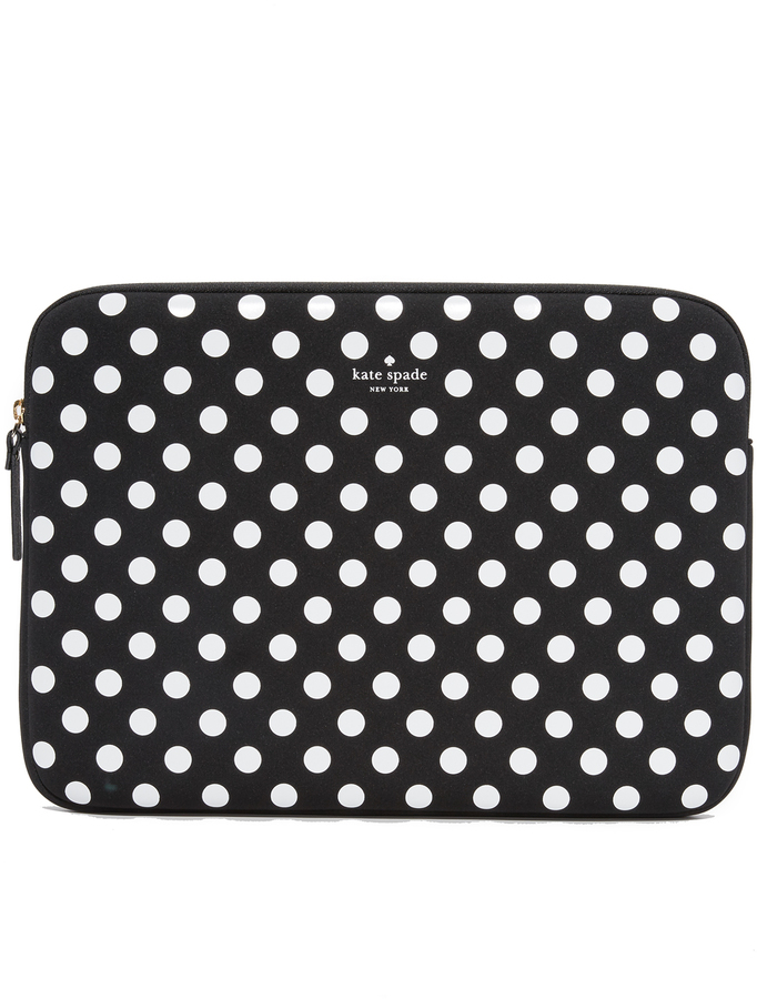 Kate Spade Kate Spade New York 13 Inch Neoprene Dot Sleeve