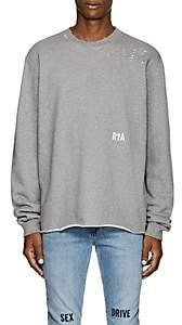 "RtA Men's ""Live Entertainment"" Cotton-Blend Fleece Sweatshirt - Gray"