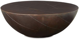 Delano Coffee Table - Antiqued Brass - Brownstone Furniture