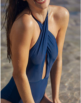 aerie Cross-Front One Piece Swimsuit