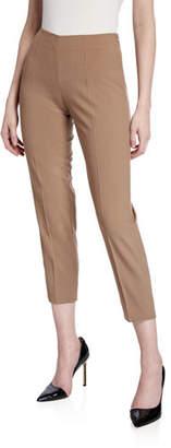 Piazza Sempione Audrey Stretch-Wool Pants