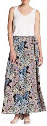 Bobeau Wrap Woven Maxi Skirt $68 thestylecure.com