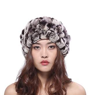 8df60dde37f at Amazon Canada · BeFur 2way Warm Hat Rabbit Fur Collar Woven for Ski or  Outdoor Fall and Winter