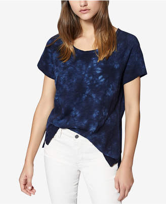 Sanctuary Beacon Cotton Tie-Dyed Top