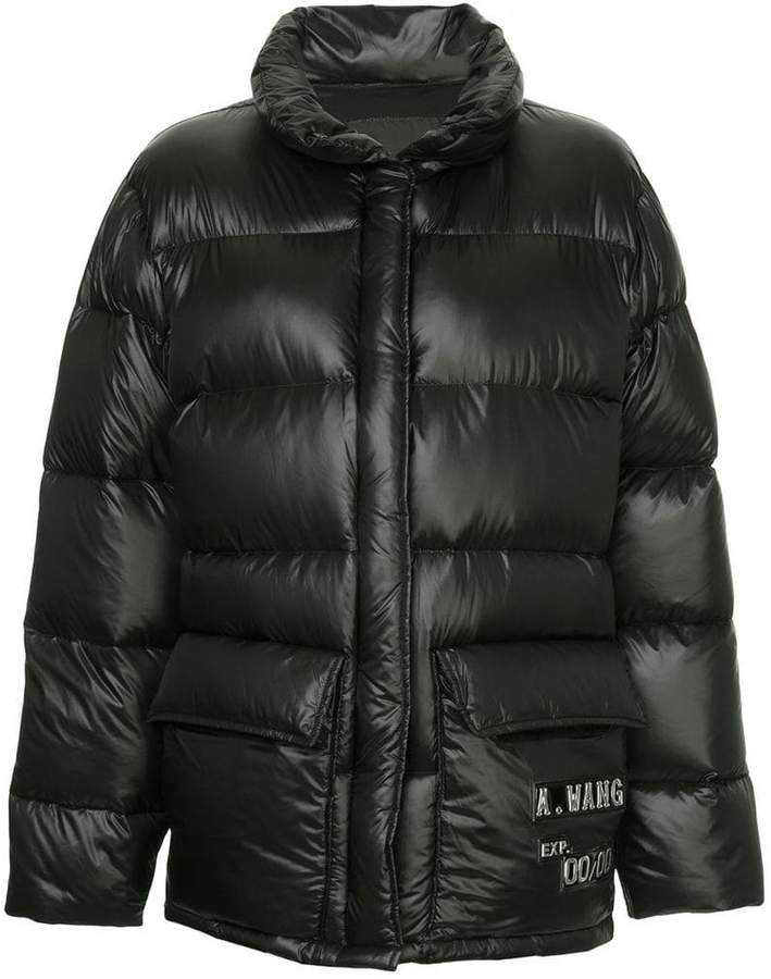 oversized puffer coat