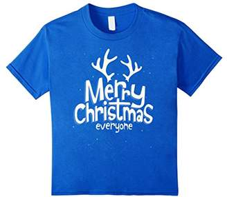 MERRY CHRISTMAS Reindeer Antlers Xmas Holiday T-Shirts