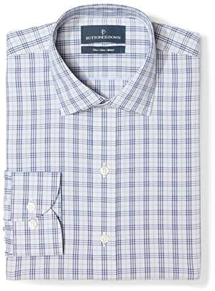 Buttoned Down Men's Slim Fit Spread Collar Pattern