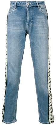 Kappa branded denim trousers