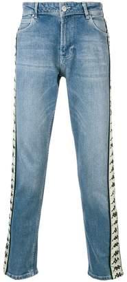 Kappa branded denim trousers