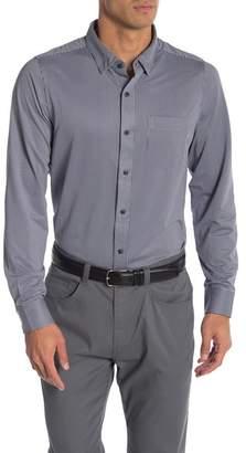 Travis Mathew Ullman Long Sleeve Button Down Shirt